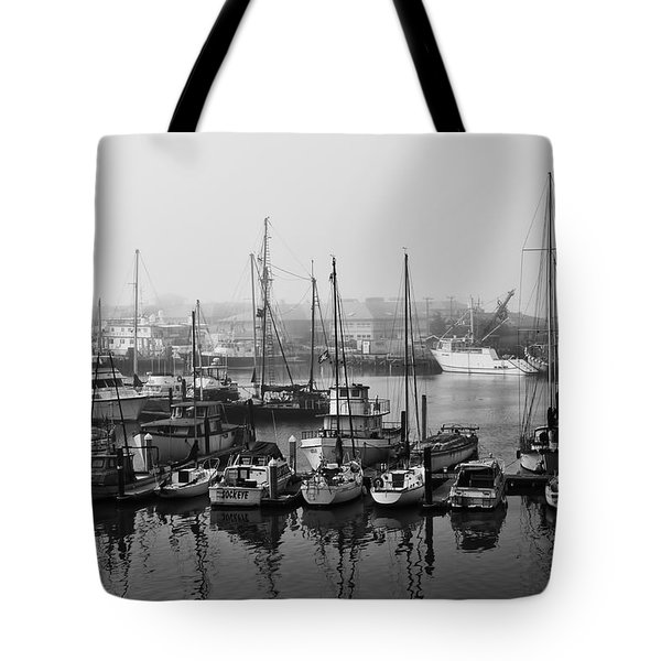 Moss Landing Harbor Tote Bag