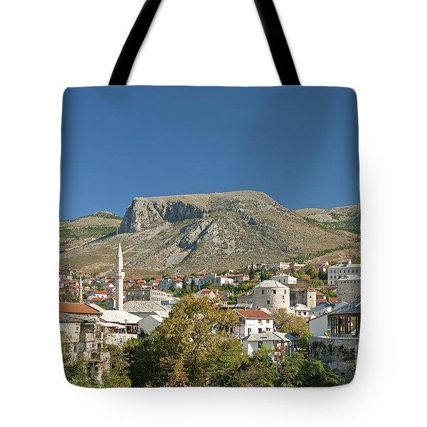 Mostar In Bosnia Herzegovina Tote Bag