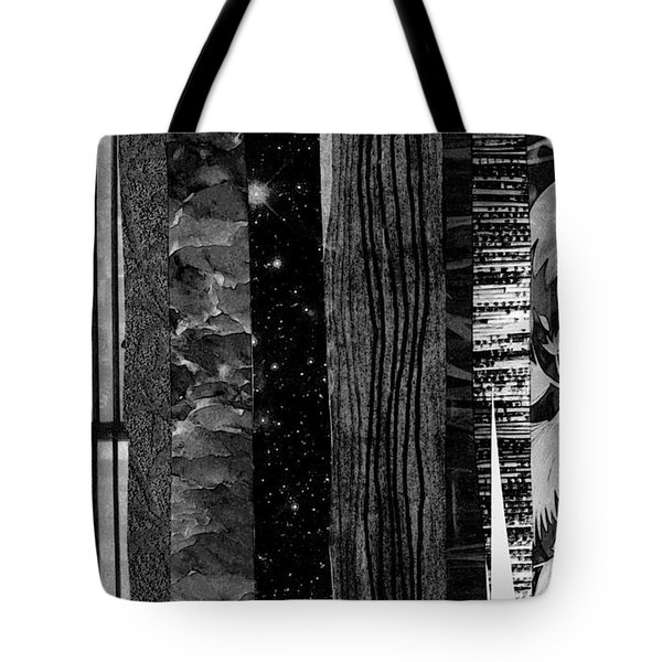 Mostly Vertical Tote Bag