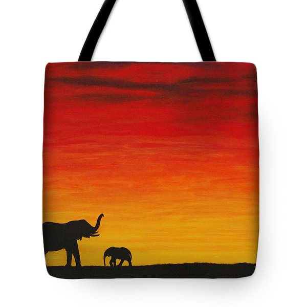 Mother Africa 1 Tote Bag by Michael Cross