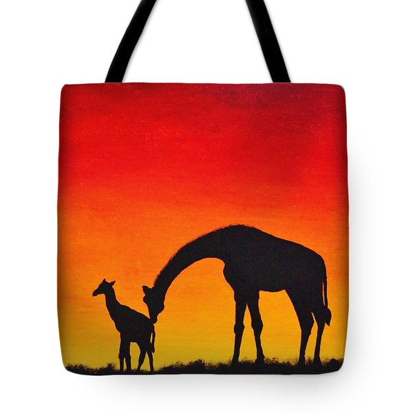 Mother Africa 2 Tote Bag by Michael Cross