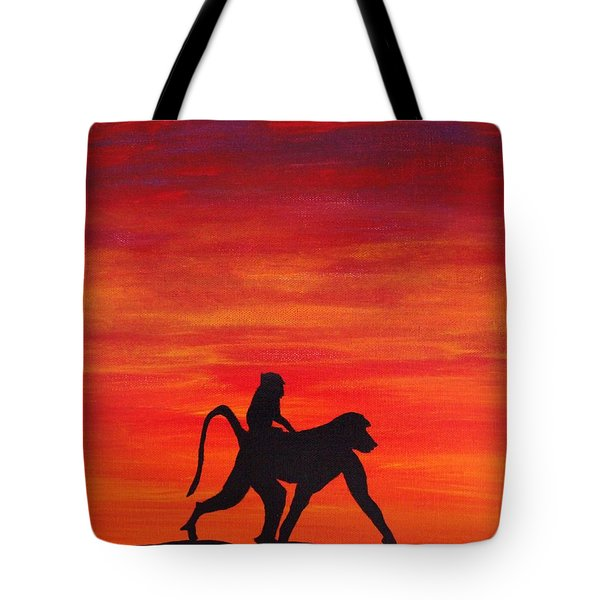 Mother Africa 4 Tote Bag by Michael Cross
