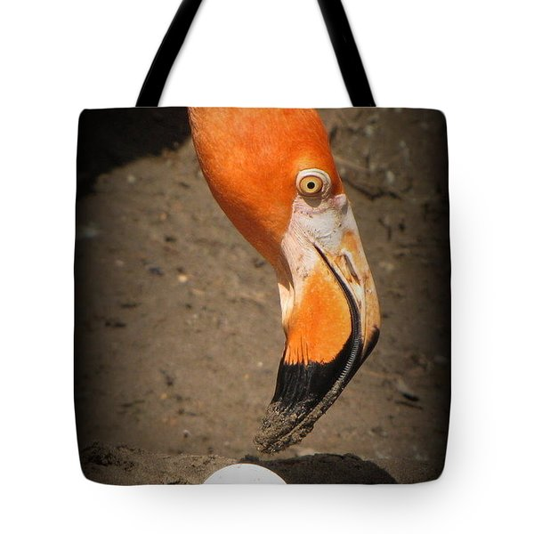 Tote Bag featuring the photograph Mother And Child by Beth Vincent