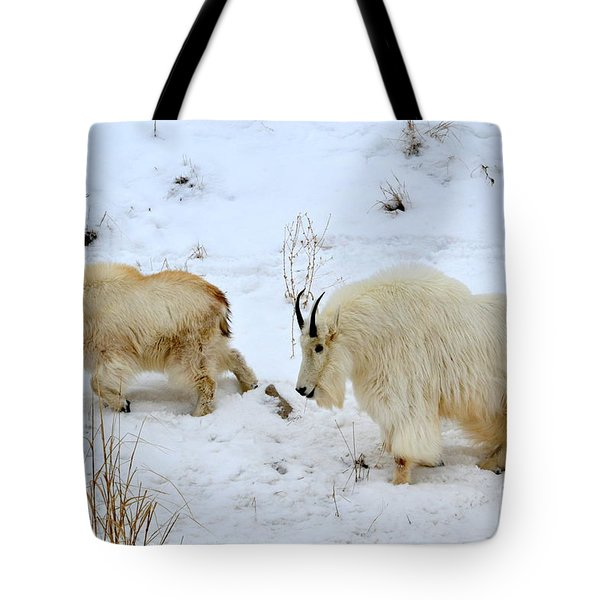 Tote Bag featuring the photograph Mother And Child by Dorrene BrownButterfield
