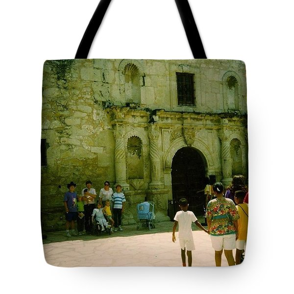 Mother And Family Tote Bag