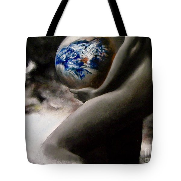 Mother Earth Tote Bag by Chelle Brantley