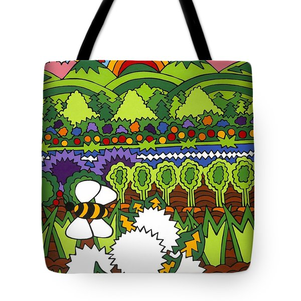 Mother Earth Tote Bag by Rojax Art