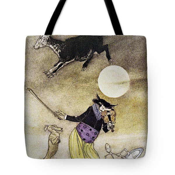 Mother Goose, 1913 Tote Bag by Granger