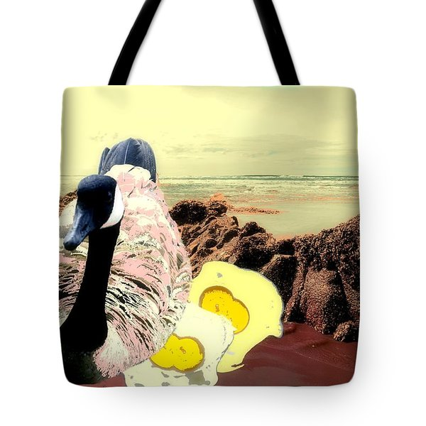 Mother Goose In A Past Life Tote Bag