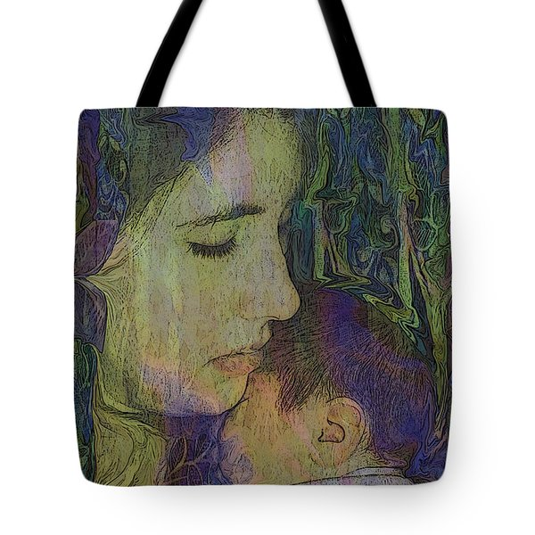 Mother Love Of Father Heart Tote Bag