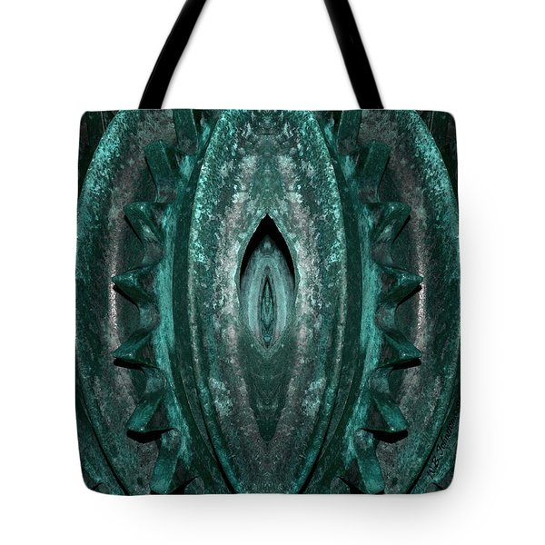 Tote Bag featuring the photograph Mother Machine by WB Johnston