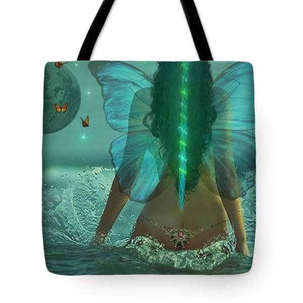 Mother Nature Tote Bag by Michael Rucker