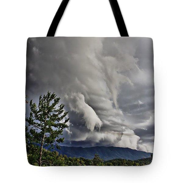 Mother Nature Showing Off V2 Tote Bag