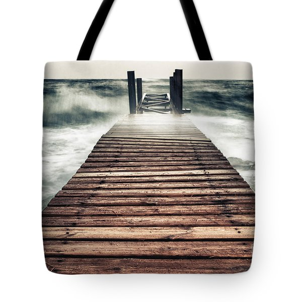 Mother Nature Tote Bag by Stelios Kleanthous