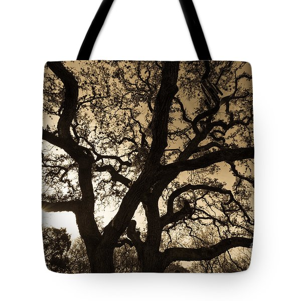 Mother Nature's Design Tote Bag