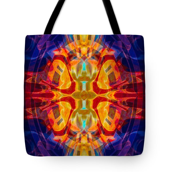 Mother Of Eternity Abstract Living Artwork Tote Bag