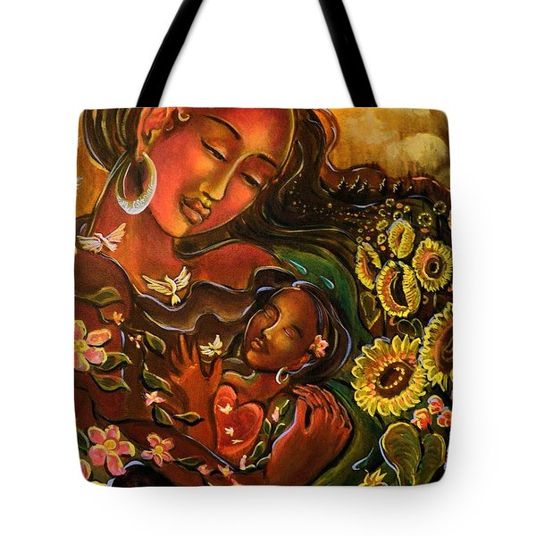Mothering Myself Tote Bag by Crystal Charlotte Easton