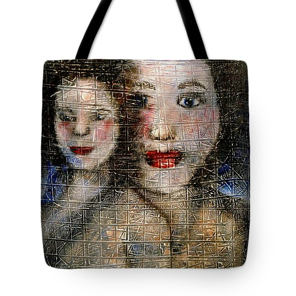 Motherly Love Tote Bag by Natalie Holland