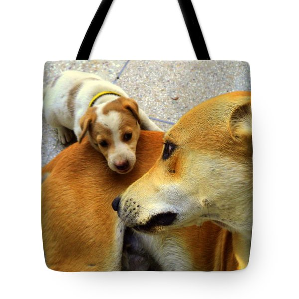 Mother's Affection Tote Bag