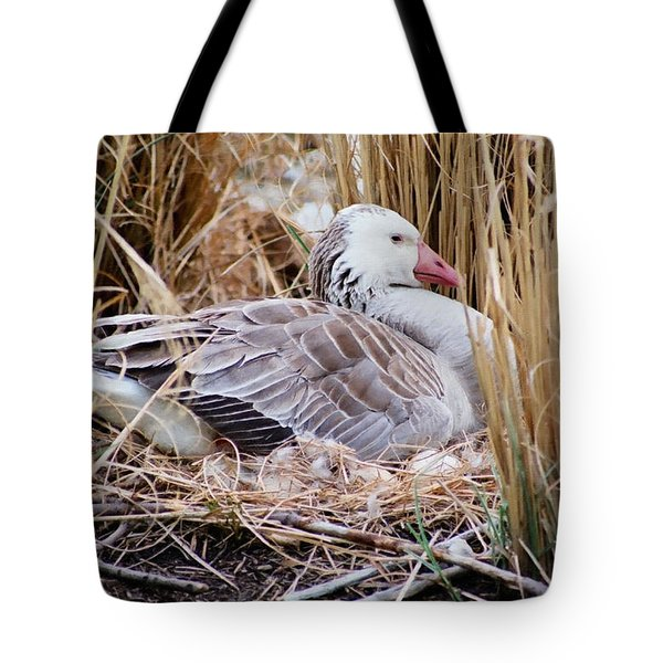 Mother's Day Goose Tote Bag