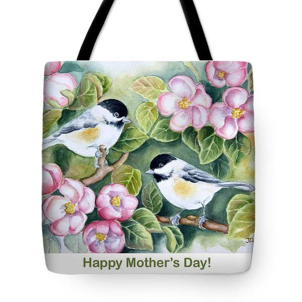 Mother's Day Greeting Card Tote Bag