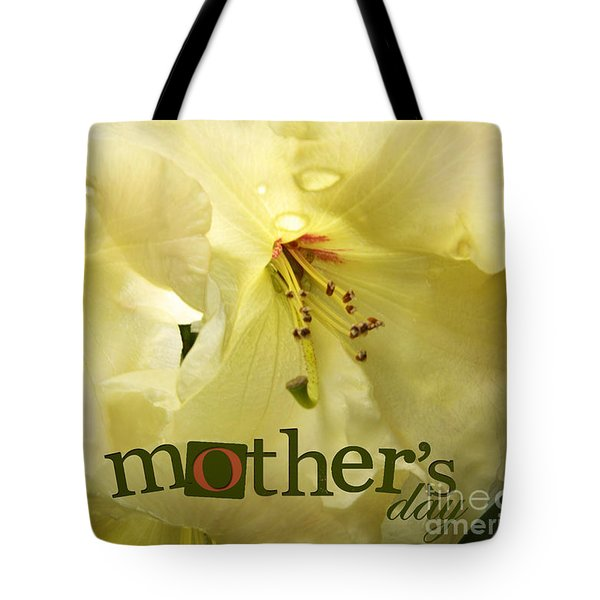 Tote Bag featuring the photograph Mothers Day by Jean OKeeffe Macro Abundance Art