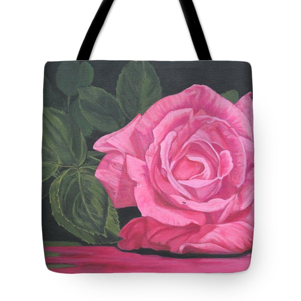 Mothers Day Rose Tote Bag by Wendy Shoults