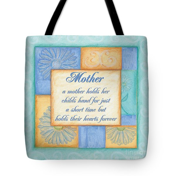Mother's Day Spa Tote Bag by Debbie DeWitt