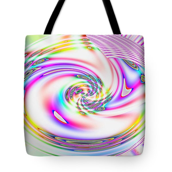Mother's Love Modern Abstract Art Tote Bag