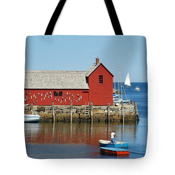 Rockport's Motif #1 Tote Bag