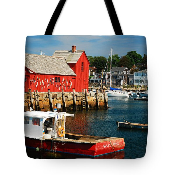 Motiff 1 In Rockport Tote Bag