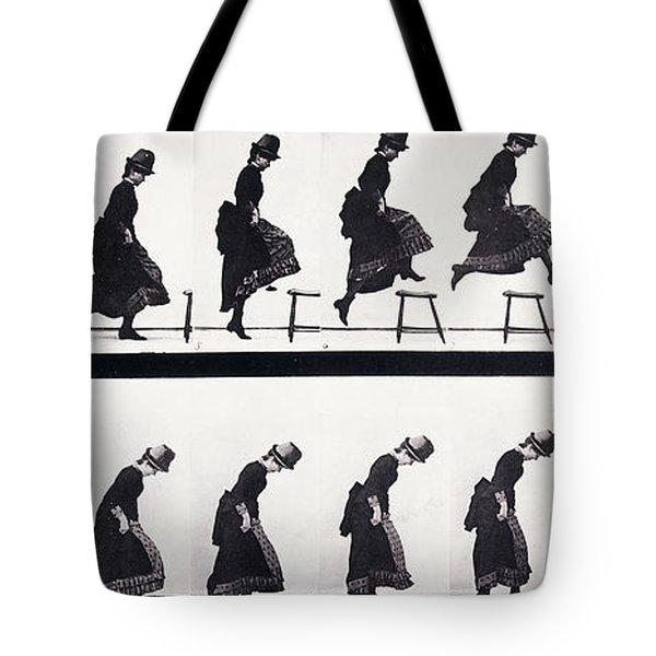 Motion Study Tote Bag