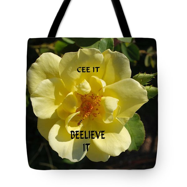 Tote Bag featuring the photograph Motivational by Bob Sample