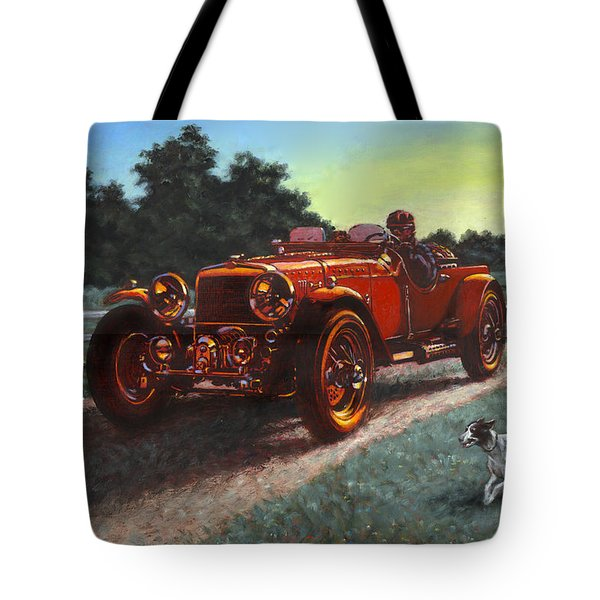 Motor Car Tote Bag