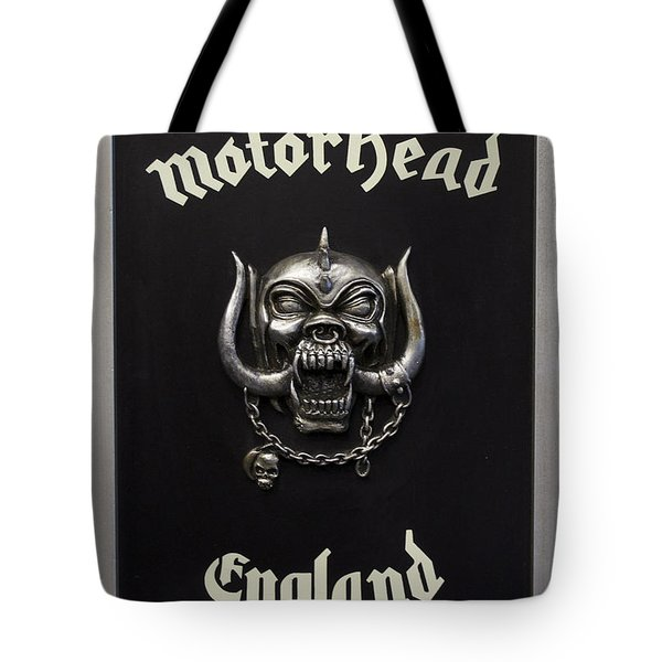 Motorhead England Tote Bag by The Artist Project