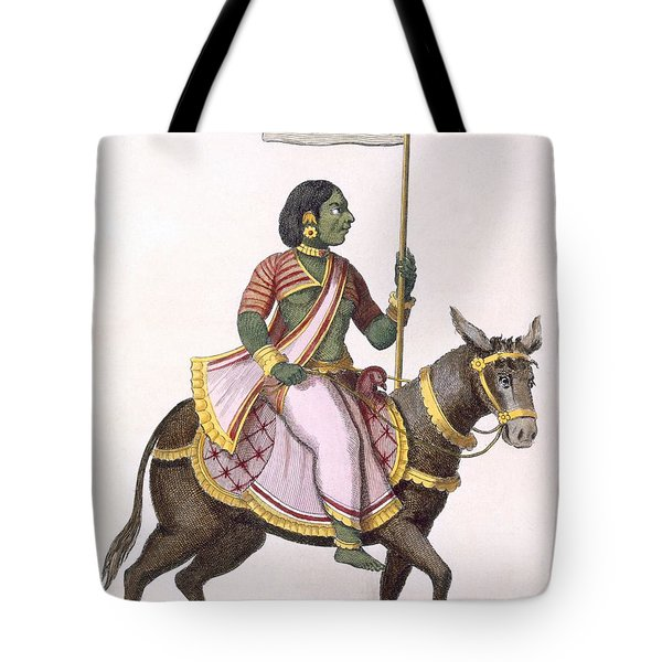 Moudevi, Goddess Of Discord And Misery Tote Bag by Pierre Sonnerat