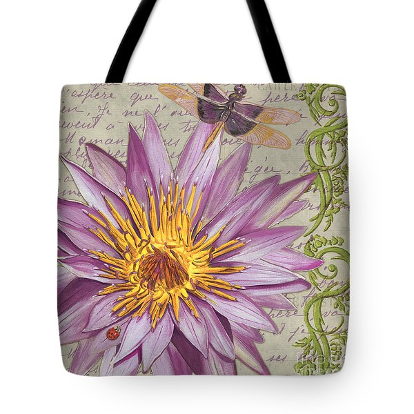 Moulin Floral 1 Tote Bag
