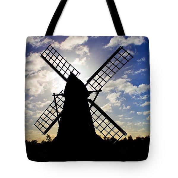 Moulin Noir Tote Bag