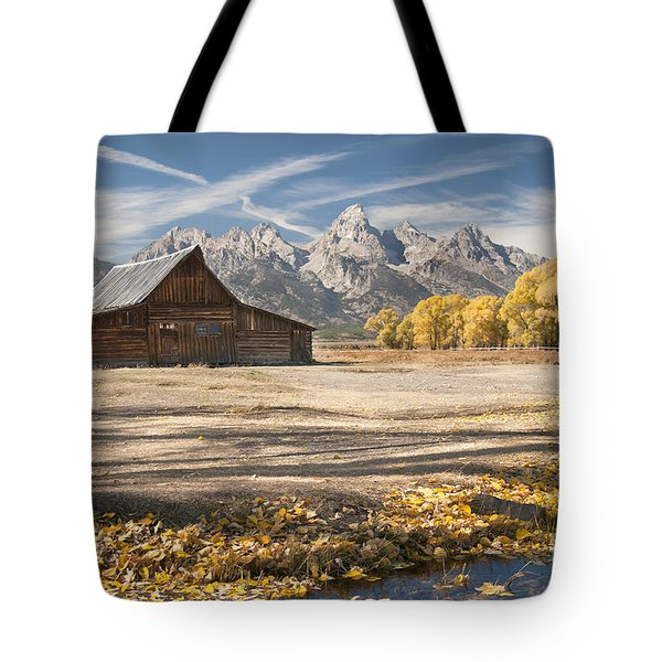 Moulton Barn Autumn Tote Bag