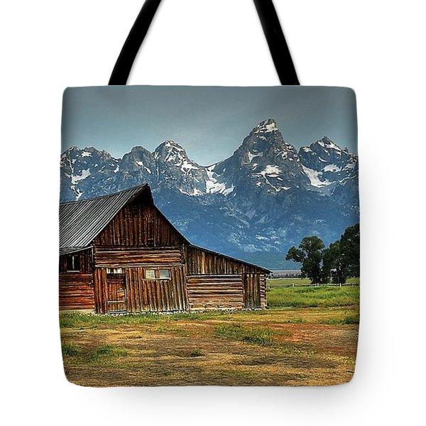Moulton Barn Morning Tote Bag