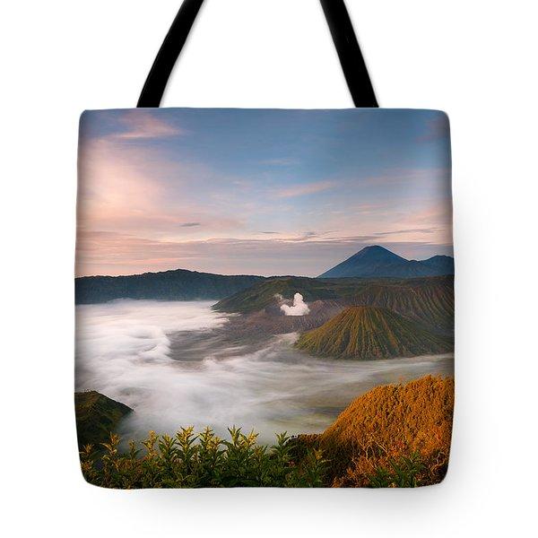 Mount Bromo Sunrise Tote Bag
