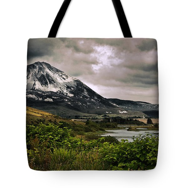 Tote Bag featuring the photograph Mount Errigal by Jane McIlroy