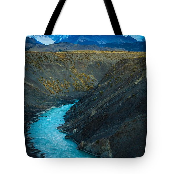 Mount Fitz Roy Tote Bag