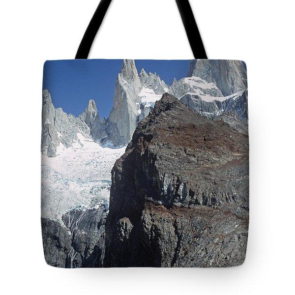 Mount Fitzroy Patagonia Tote Bag by Rudi Prott