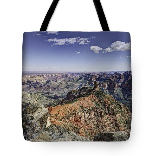 Mount Hayden Tote Bag by Mike Herdering