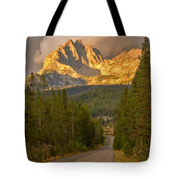 Mount Heyburn Tote Bag by Robert Bales