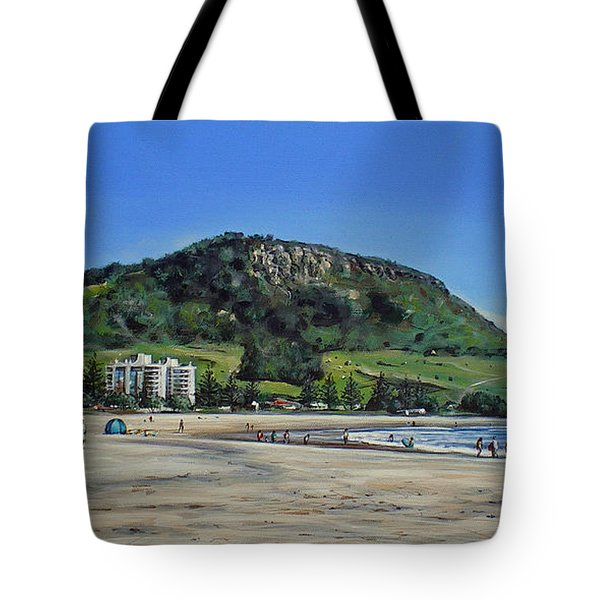 Mount Maunganui Beach 151209 Tote Bag