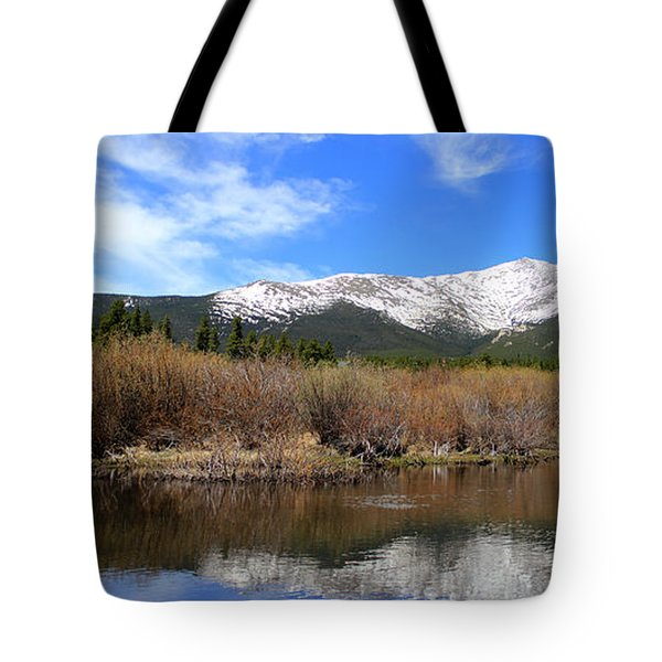 Mount Meeker - Panorama Tote Bag