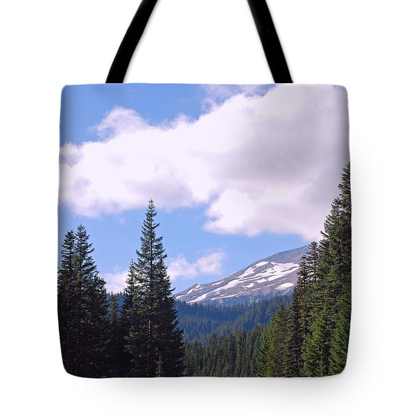 Mount Rainier National Park Tote Bag