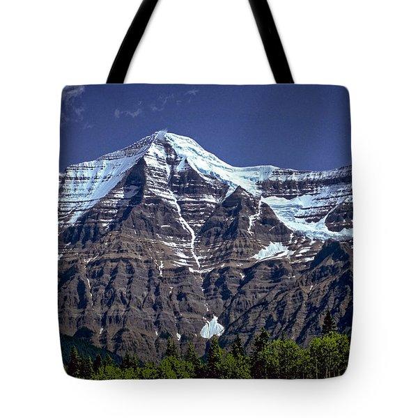 Mount Robson Tote Bag